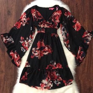 The Betsey Johnson floral dress